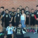 Don Lugo High School Boys Varsity Volleyball beat Ganesha High School 3-2