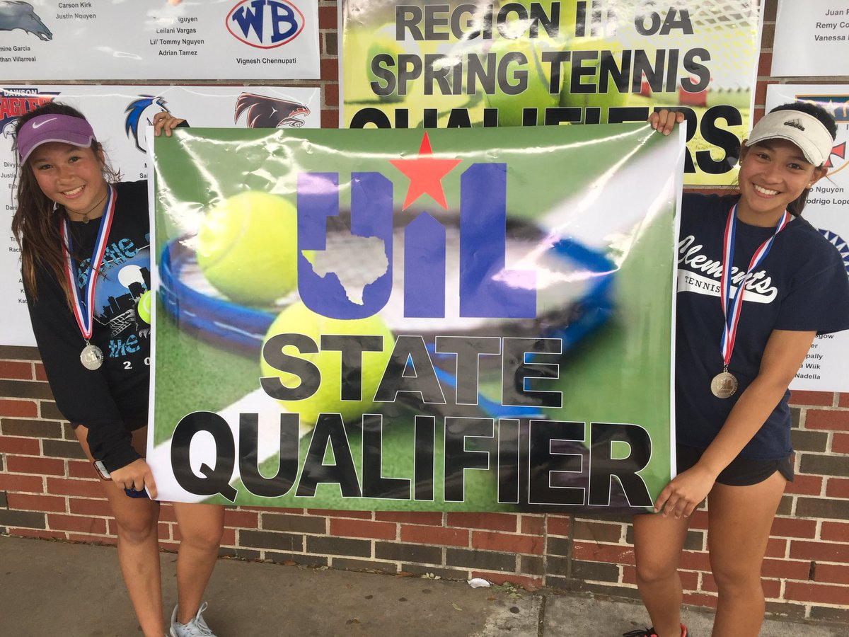 Rangers Tennis Doubles | Emily Guse and Chloe Ku Compete At State!!