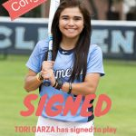 Garza Extends Softball Career With Dolphins!!