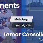 Boys Varsity Football falls to Lamar Consolidated 42 – 14