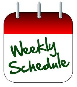 WEEKLY SCHEDULE – PAETOW WEEK