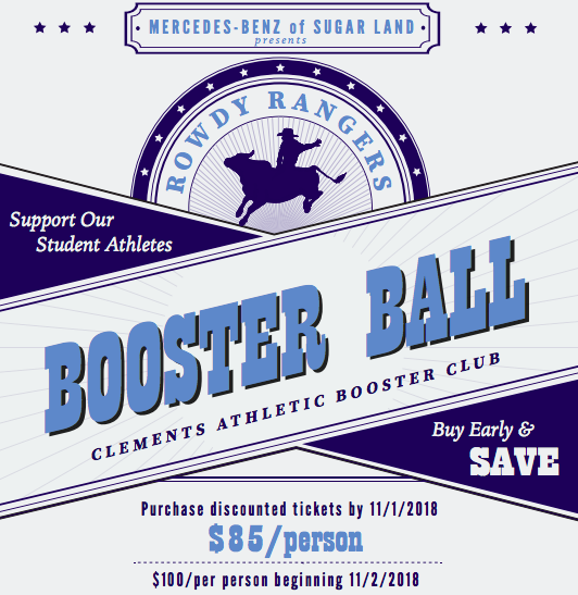 2019 Rowdy Rangers Booster Ball |Saturday, April 6th