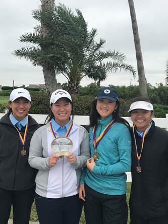 Girls Varsity Golf Team Places 3rd   Galveston, TX
