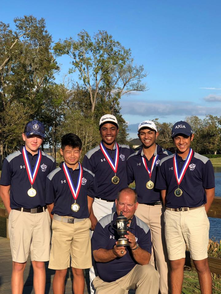 Rangers Boys Varsity Team Golf   Sienna Planation Champions!!