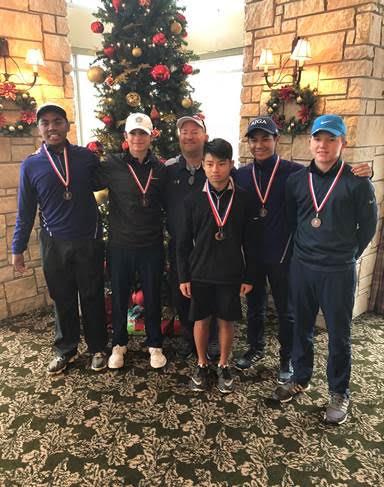 Boys Varsity Golf Takes 3rd at The Golf Club of Houston
