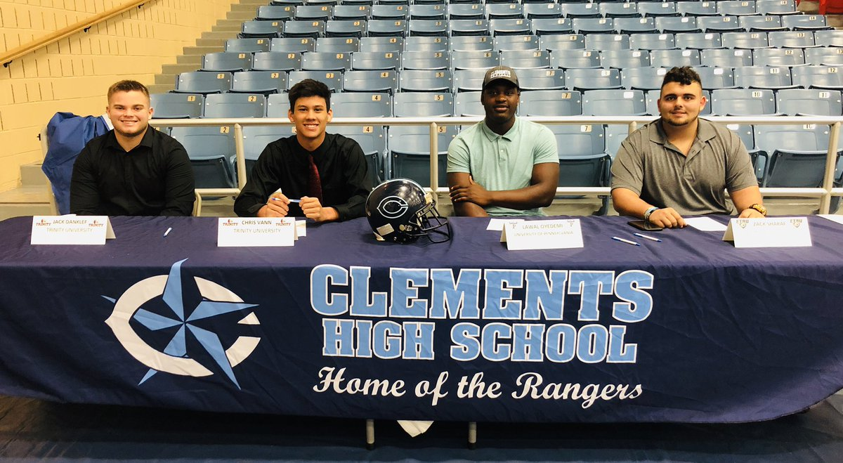 Clements HS National Signing Day 2019