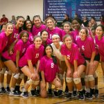 Pink Out Volleyball Game