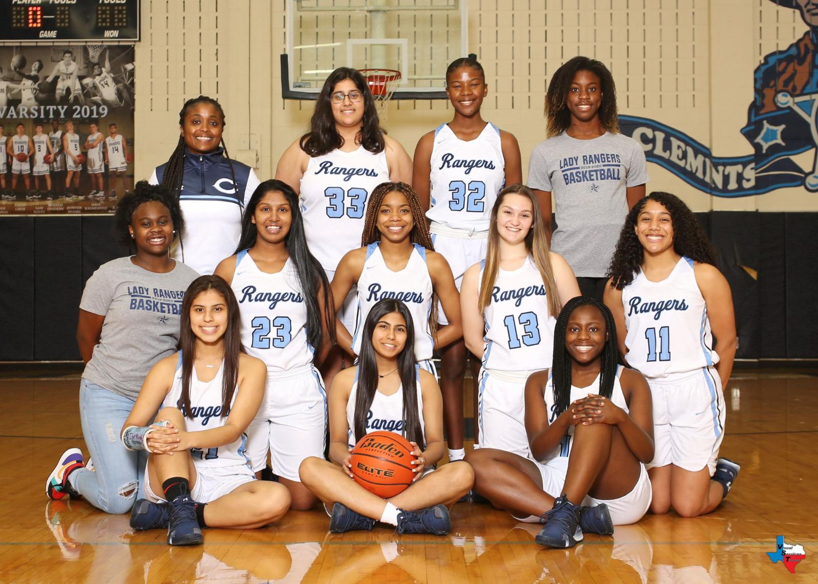 2019-2020 CHS Lady Rangers Basketball Team Photos & Schedules