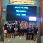 CHS Boys Swim Team Earns 2019-2020   20-6A District Championship!!