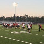 Segerstrom High School Varsity Football beat Santa Monica High School 29-0