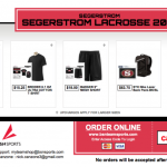 Get your Segerstrom Lacrosse Gear!
