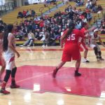 Segerstrom High School Girls Varsity Basketball beat Santa Ana High School 58-43
