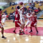 Segerstrom High School Boys Varsity Basketball beat Santa Ana High School 61-38
