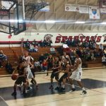 Segerstrom High School Boys Varsity Basketball beat Rio Mesa – CIF 4AA Playoffs 60-49