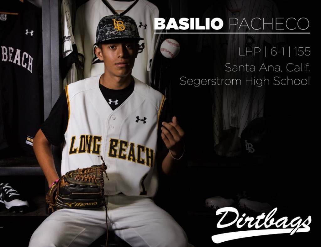 Basilio Pacheco signs with Long Beach State!