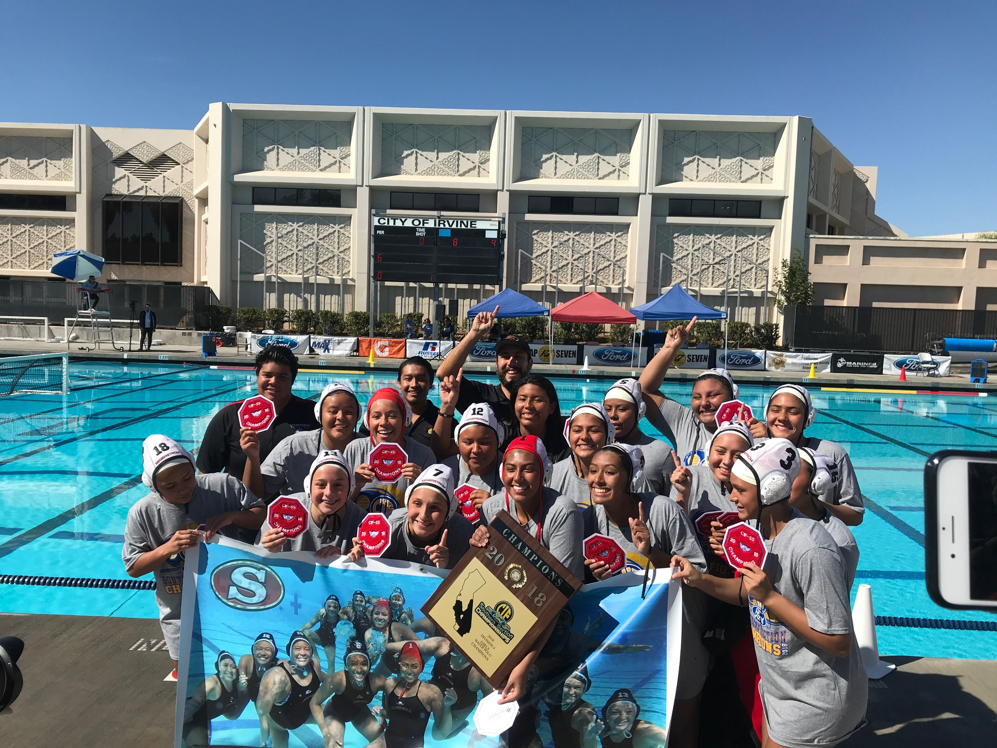 Girls Water Polo – CIF Division 4 Champions!