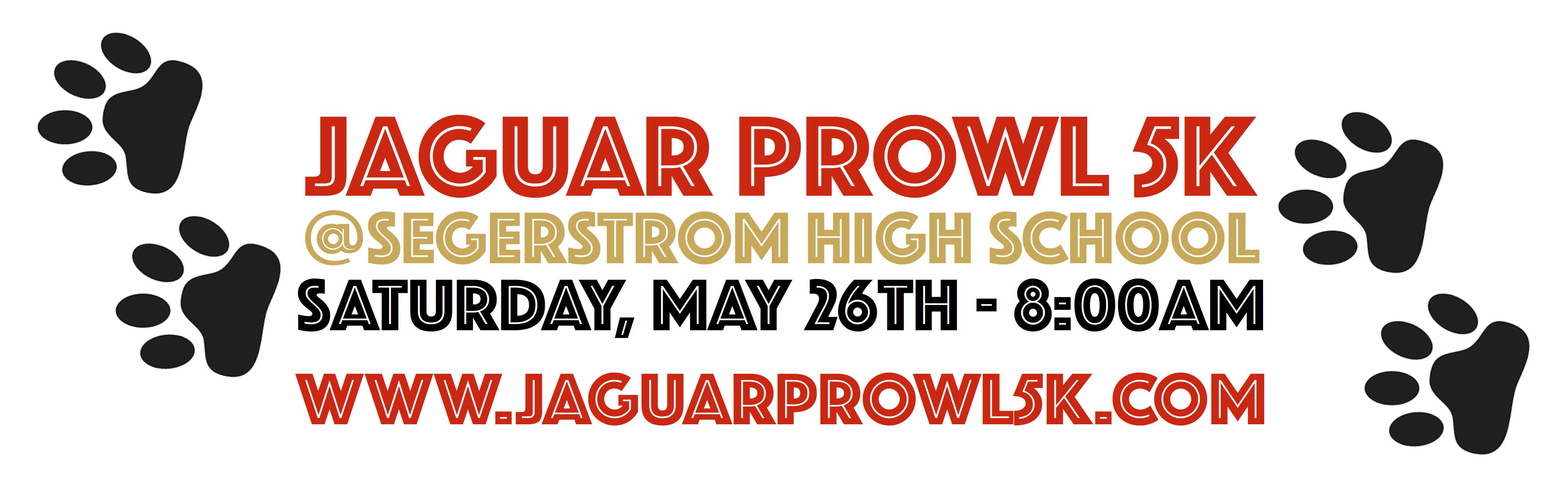 Jaguar Prowl 5K – Saturday, May 26th