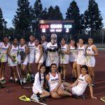 Girls Varsity Lacrosse gets 1st Win!
