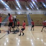 Boys Varsity Volleyball beats Orange 3 – 0