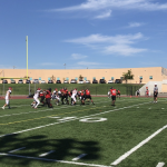 Boys Junior Varsity Football beats El Modena 22 – 15