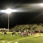 Varsity Football falls to El Modena 21 – 7