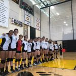 Girls Varsity Volleyball beats Godinez 3 – 2