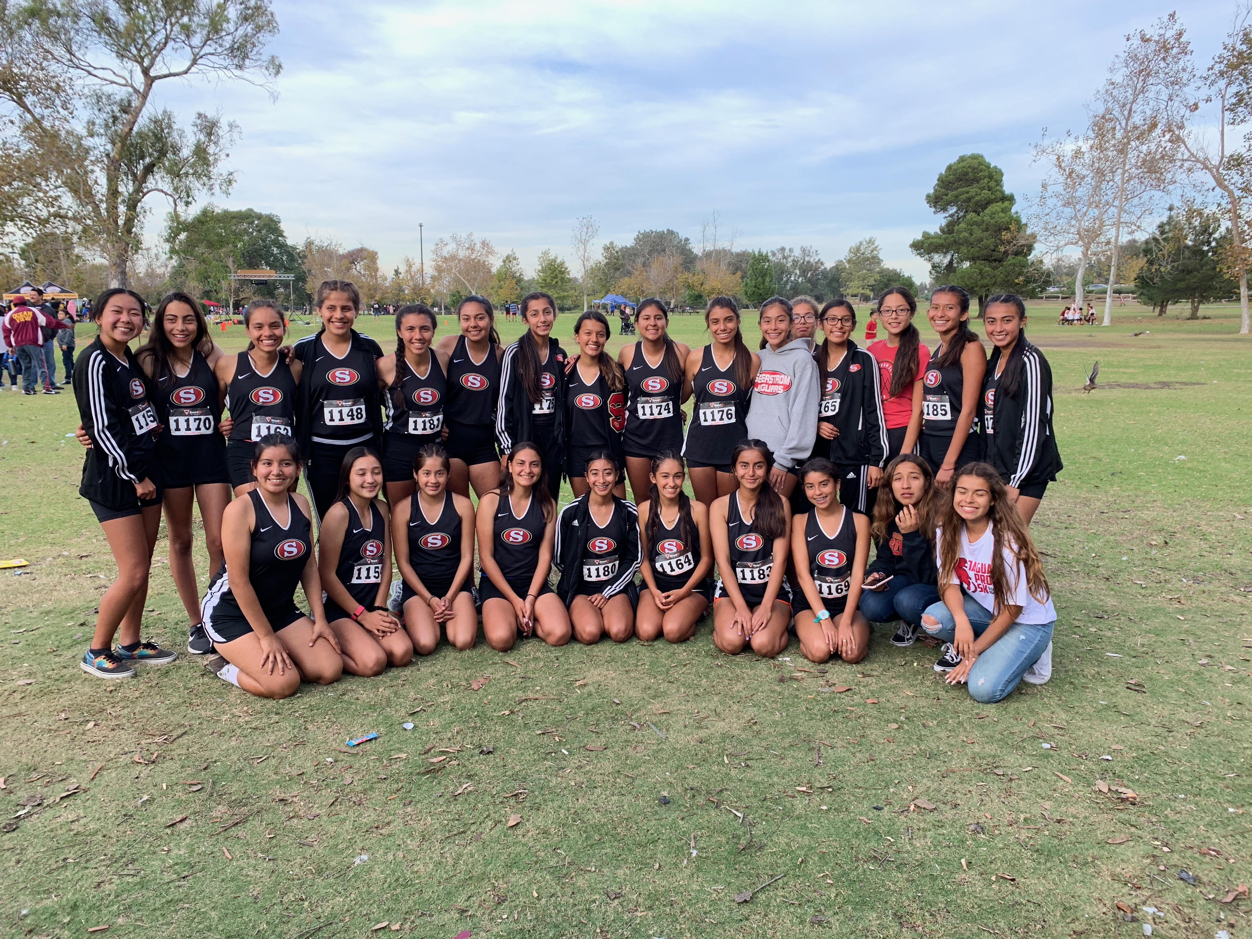 Girls Varsity Cross Country – GWL Champs!