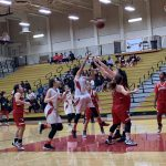Girls Varsity Basketball beats Westminster 52 – 47