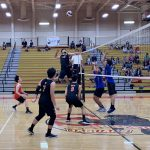Boys Varsity Volleyball beats Western 3 – 0