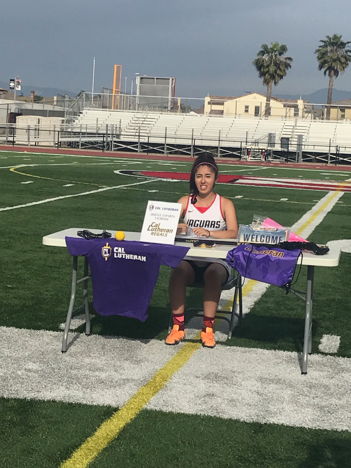 Arielle Esparza signs with Cal Lutheran