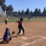 Girls Varsity Softball beats Western 13 – 0