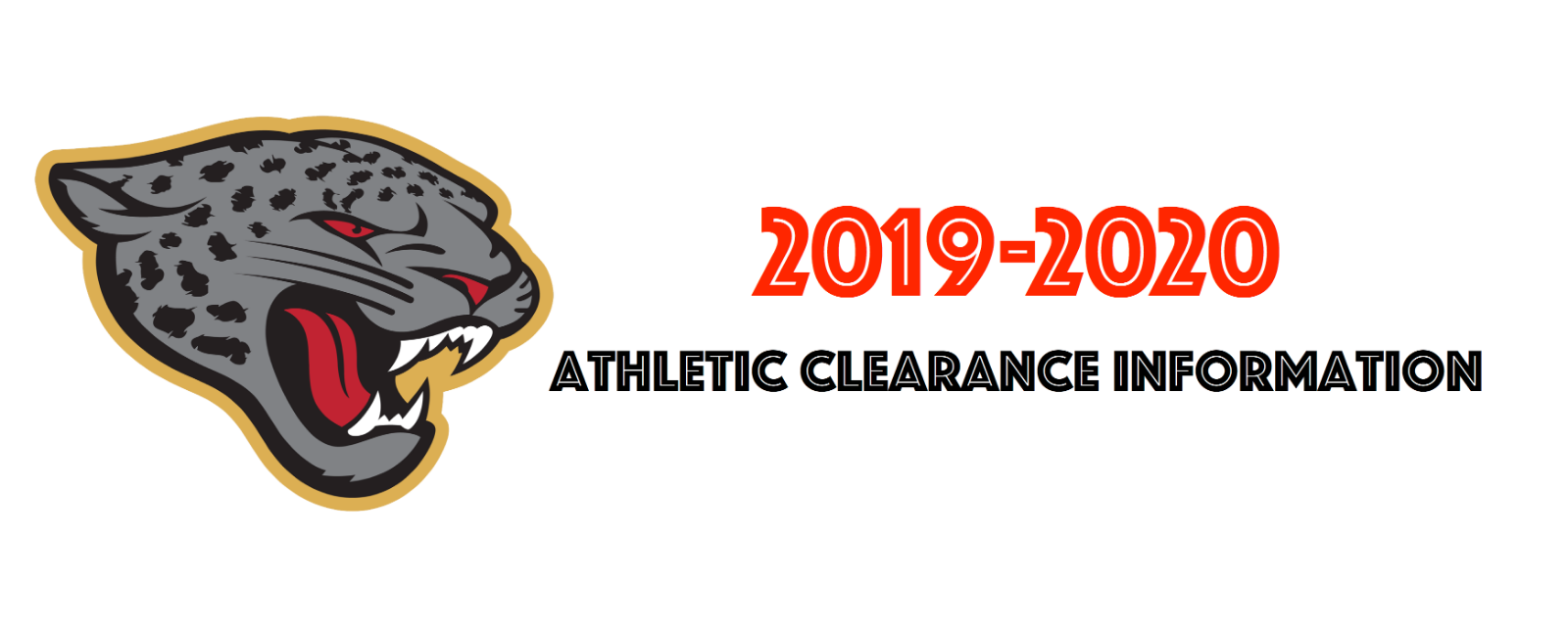 2019-2020 Athletic Clearance Information