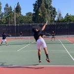 Boys Varsity Tennis beats Rancho Alamitos 10 – 8