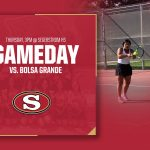 Girls Tennis vs. Bolsa Grande Today!