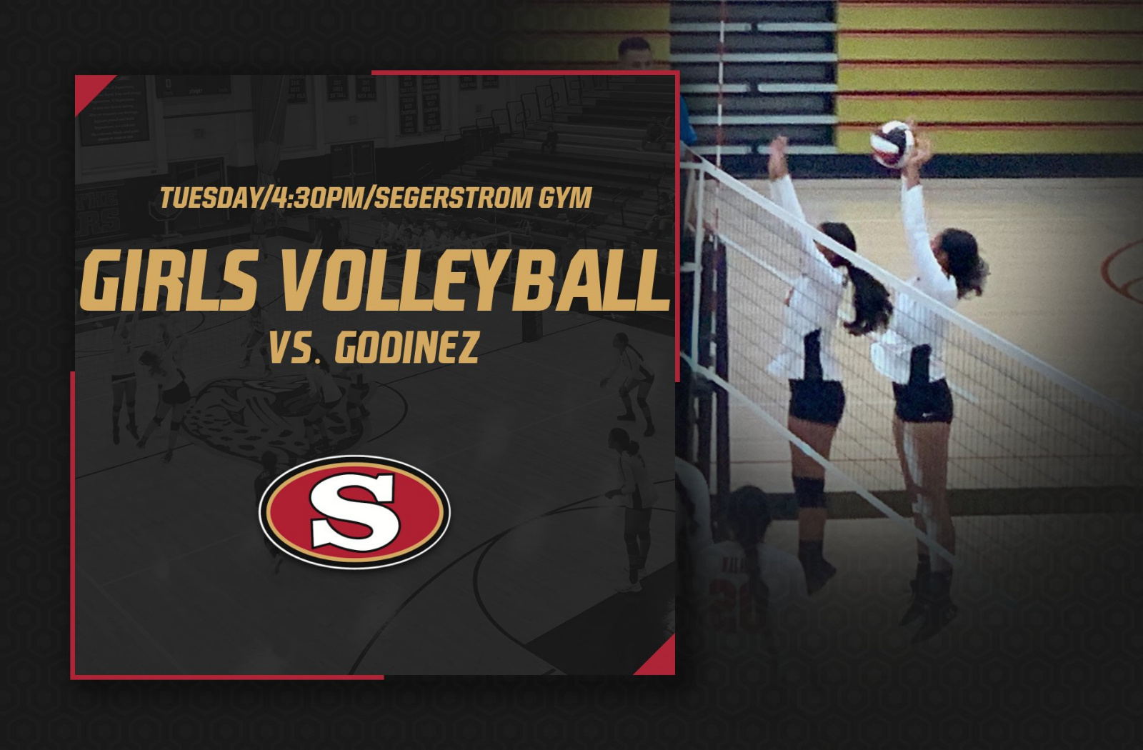 Girls Volleyball vs. Godinez – Tuesday