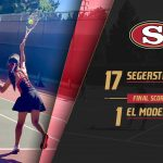 Girls Varsity Tennis beats El Modena 17 – 1