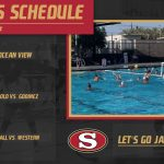 Water Polo, Tennis, and Volleyball in Action Today!