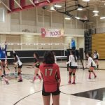 Girls Varsity Volleyball beats Western 3 – 1
