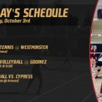 Tennis, Volleyball, and Football In Action Today!
