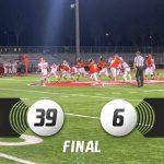 Boys Varsity Football beats Garden Grove 39 – 6