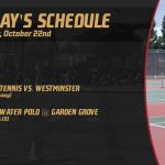 Girls Tennis and Boys Water Polo in Action Today!