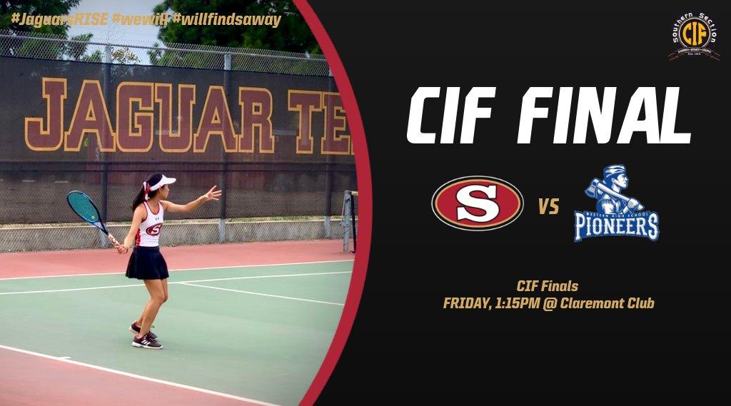 Girls Tennis – CIF Finals