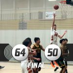 Boys Varsity Basketball beats Saddleback 64 – 50