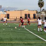 Girls Varsity Soccer beats Santiago/Garden Grove 2 – 1
