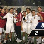 Boys Varsity Soccer beats Trabuco Hills 2 – 0