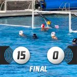Girls Varsity Water Polo beats Godinez 15 – 0