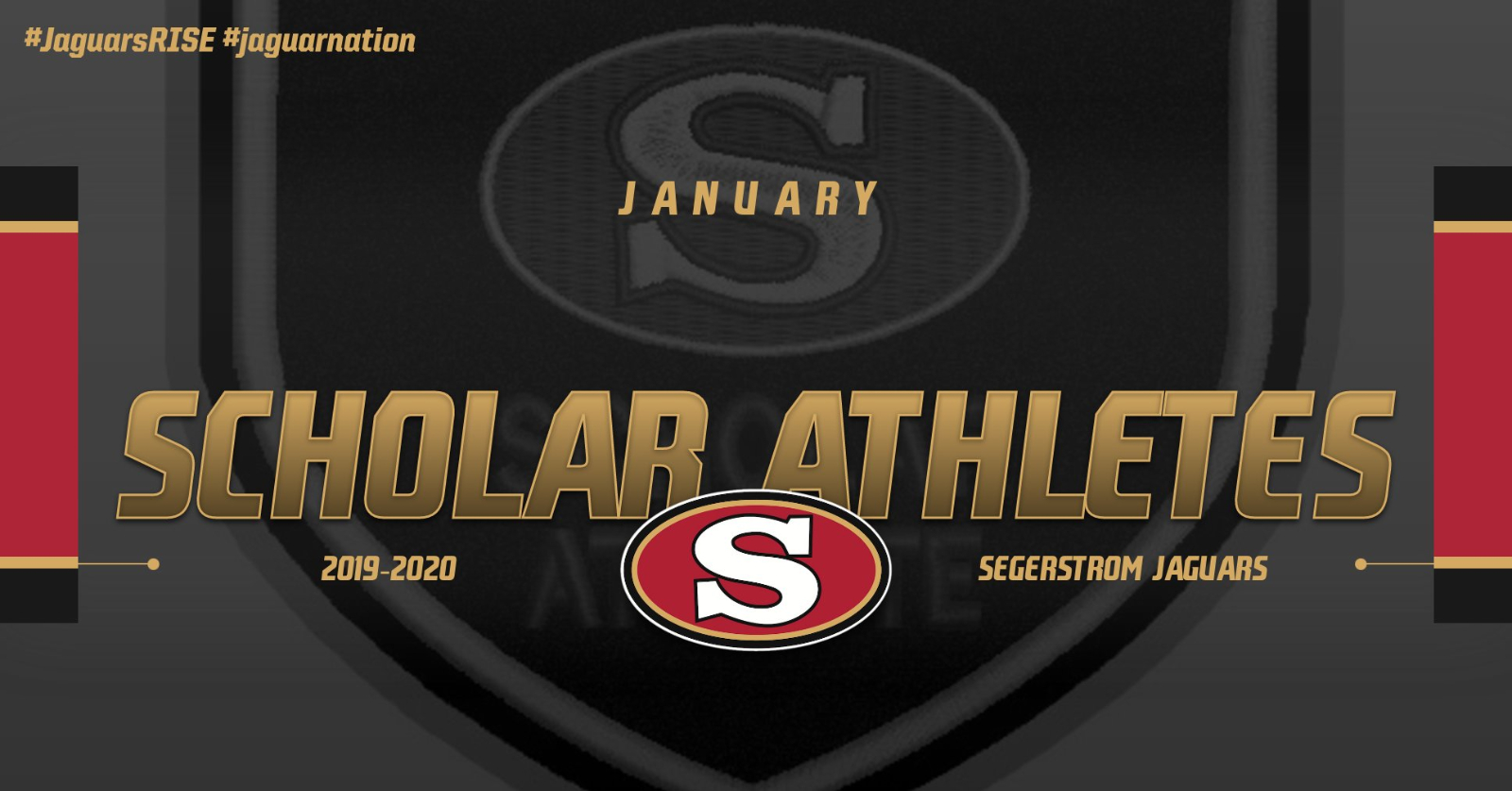 Scholar-Athletes of the Month – January