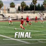 Girls Varsity Soccer beats Garden Grove 1 – 0