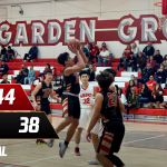 Boys Varsity Basketball falls to Garden Grove 44 – 38