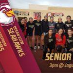 Girls Soccer Senior Night vs. OV